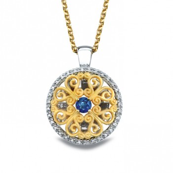 Sapphire Pendant 718x18