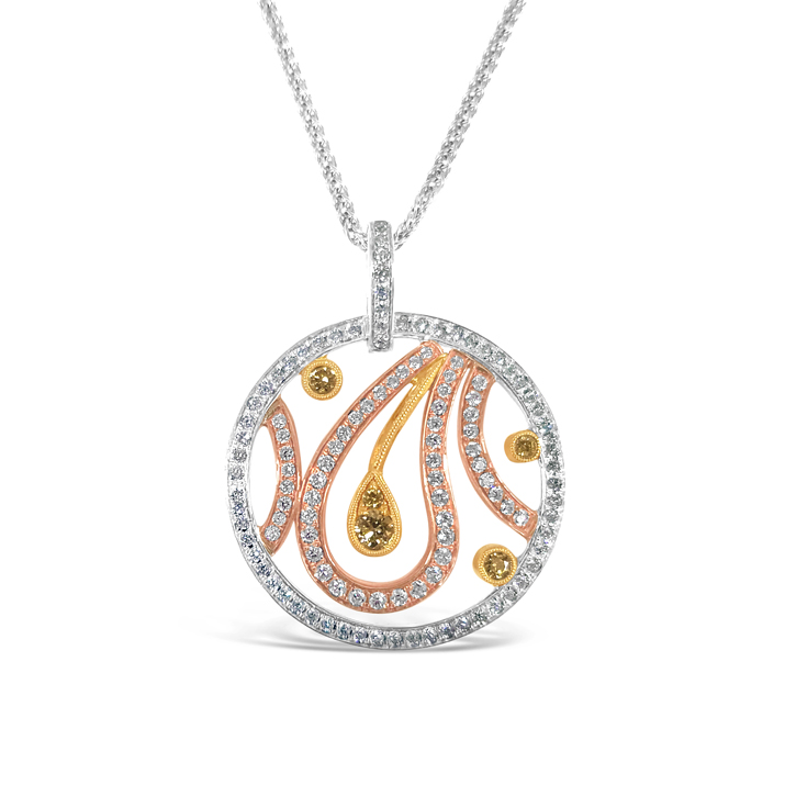 diamond pendant michael 39 s creative jewelry